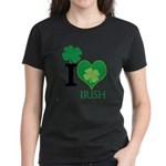 OYOOS Irish Heart design Women's Dark T-Shirt