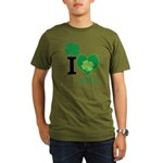 OYOOS Irish Heart design Organic Men's T-Shirt (da