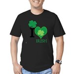 OYOOS Irish Heart design Men's Fitted T-Shirt (dar