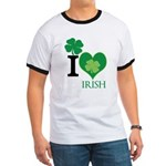 OYOOS Irish Heart design Ringer T