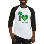 OYOOS Irish Heart design Baseball Jersey