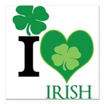 OYOOS Irish Heart design Square Car Magnet 3