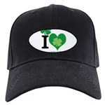 OYOOS Irish Heart design Black Cap