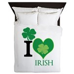 OYOOS Irish Heart design Queen Duvet