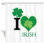 OYOOS Irish Heart design Shower Curtain