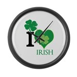 OYOOS Irish Heart design Large Wall Clock