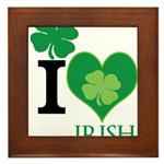 OYOOS Irish Heart design Framed Tile