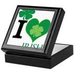 OYOOS Irish Heart design Keepsake Box