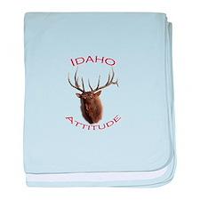 Idaho Attitude baby blanket