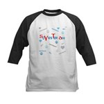 OYOOS SoYesterday design Kids Baseball Jersey