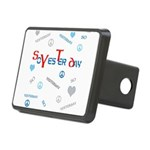 OYOOS SoYesterday design Rectangular Hitch Cover