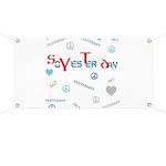 OYOOS SoYesterday design Banner
