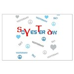 OYOOS SoYesterday design Large Poster