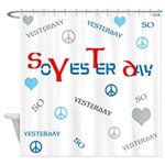 OYOOS SoYesterday design Shower Curtain