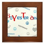 OYOOS SoYesterday design Framed Tile