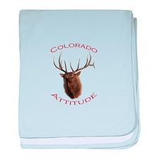 Colorado Attitude baby blanket
