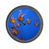 Jelly Fish Wall Clock