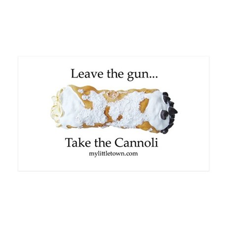 Cannoli 35x21 Wall Decal