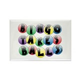 Bingo Balls Rectangle Magnet