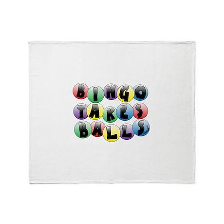 Bingo Balls Throw Blanket