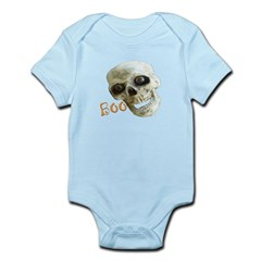 BOO HALLOWEEN BLACK Infant Bodysuit