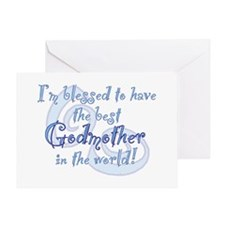 Blessed Godmother BL Greeting Card
