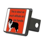 OYOOS Dog Attitude design Rectangular Hitch Cover