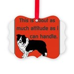 OYOOS Dog Attitude design Picture Ornament