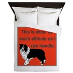 OYOOS Dog Attitude design Queen Duvet
