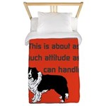 OYOOS Dog Attitude design Twin Duvet