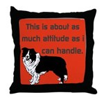 OYOOS Dog Attitude design Throw Pillow