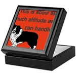 OYOOS Dog Attitude design Keepsake Box