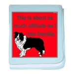 OYOOS Dog Attitude design baby blanket