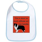 OYOOS Dog Attitude design Bib