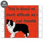 OYOOS Dog Attitude design Puzzle