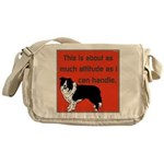 OYOOS Dog Attitude design Messenger Bag