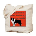 OYOOS Dog Attitude design Tote Bag