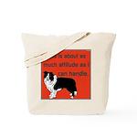 OYOOS Dog Attitude design Tote Bag