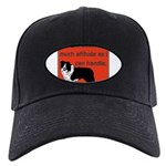 OYOOS Dog Attitude design Black Cap
