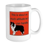 OYOOS Dog Attitude design Large Mug