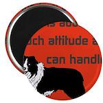 OYOOS Dog Attitude design Magnet