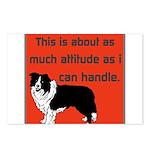 OYOOS Dog Attitude design Postcards (Package of 8)