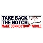 Take Back The Notch Bumper Sticker