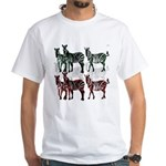 OYOOS Zebra design White T-Shirt