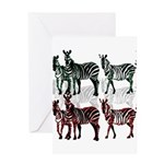 OYOOS Zebra design Greeting Card