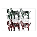 OYOOS Zebra design Postcards (Package of 8)