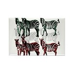 OYOOS Zebra design Rectangle Magnet (100 pack)