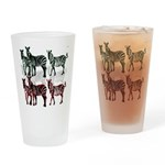 OYOOS Zebra design Drinking Glass