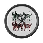 OYOOS Zebra design Large Wall Clock