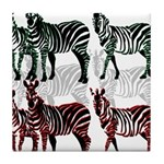 OYOOS Zebra design Tile Coaster